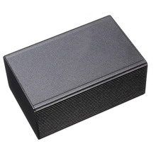 1pc Mayitr Black Aluminum Enclosure Case Electronic Project Instrument Box 100x66x43mm