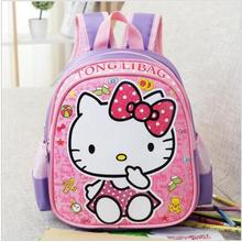 Baby Backpack Child School Bag Cartoon Hello Kitty /Transformers Backpack Kid Kindergarten Schoolbag For Kid Mochila Infantil