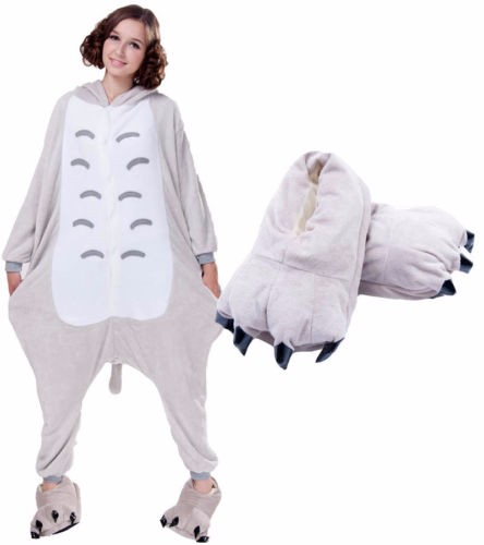 Unicorn Stitch Panda Pikachu Unisex Onesie Shoes Pajamas Costume Cosplay Animal Onesies Slippers For Women Men Adults Child