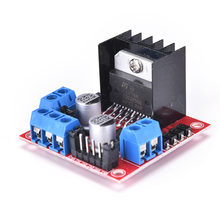 JETTING Dual H Bridge DC stepper Motor Driver Controller module Board for Arduino L298N(China)