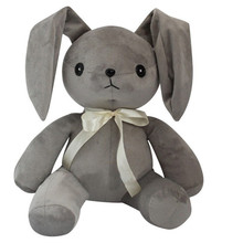 30CM Plush Toy Soft Grey Rabbit Stuffed Toys Game In solitude, where we are least alone Japanese Game Dolls