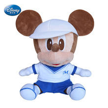 New Design Kawaii Disney Sport Mickey Mouse Plush Doll Mickey Toys For Children PP Cotton Soft Stuffed Kids Birthday Gift