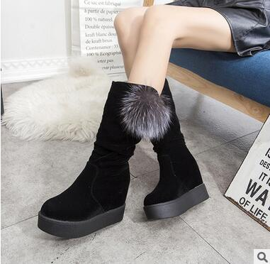 2016 superstar women boots Genuine  villi shoes woman Non-slip windproof rain boots Leisure winter Snow Boots Female boots<br><br>Aliexpress