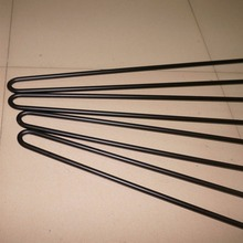 "86CM Black Metal Hairpin Legs FOR funiture, 4 PCS,2 rod 3/8"" Solid Iron, Industrial Style Sofa Table, Entry Table"