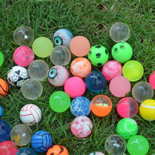 10Pcs/set Funny toy ball mixed Bouncy Ball child elastic rubber ball Children kids of pinball bouncy toys High quality