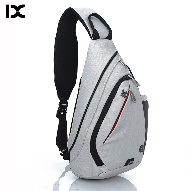 Brand Large Capacity Chest Pack Nylon Zipper Women's Messenger Bags Men's School Bag Modern Shoulder Bag Unisex Crossbody Bag(China)
