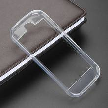 Clear Color S-Line Skidding Gel TPU Slim Soft Case Back Cover Yota YotaPhone 2 Mobile Phone Rubber silicone Cases - Jack Accessories Store store