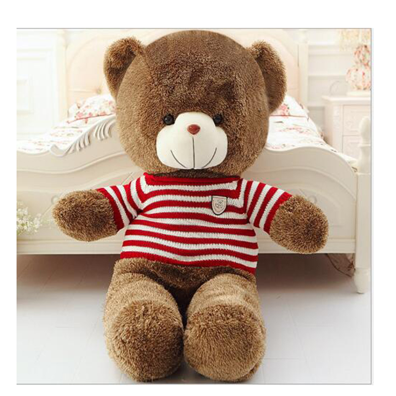 Hot high quality large plush toy teddy bear Dolls birthday gift child holiday gifts free shipping<br><br>Aliexpress