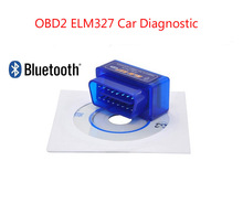 Mini ELM327 Bluetooth v1.5 OBD2 Auto Scanner ELM 327 Hardware 1.5 Works on Android T0rque/PC car diagnostic(China)