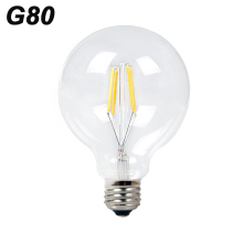 YNL Antique Retro Vintage G80 LED Edison Bulb E27 LED Bulb Filament Light 220V Glass Bulb Lamp 4W 6W 8W Candle Light Lamp(China)