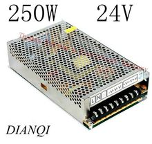 Buy DIANQI power supply 250w 24V 10A power suply 24v 250w ac dc power supply unit ac dc converter S-250-24 for $15.60 in AliExpress store