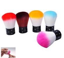 Biutee New Colorful Nail Tools Brush For Acrylic & UV Gel Nail Art Dust Cleaner Nail Brush(China)