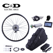 ebike kit Electric bike conversion kit 48V350W motor MXUS brand Triangle bag Lithium battery LED LCD display optional