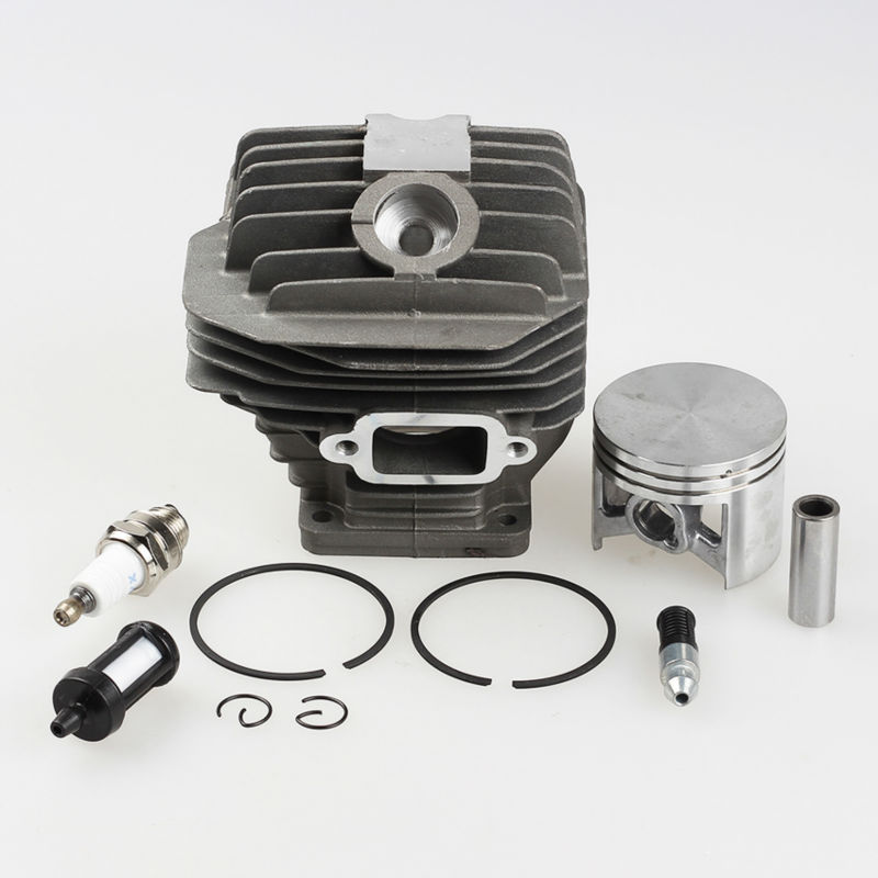 50mm Cylinder Piston Kit Fit Calm 044 MS440 MS 440 Replace 1128-020-1201, 1128-020-1227 Chainsaw<br>