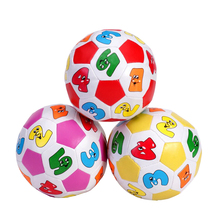 Cotton Filled Mini Football Toys For Children Piscina De Bolinha Com As Bolas Beach Ball Game With Sound Plastic Balls For Kids