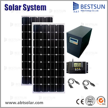 excellent and cheap mini grid off grid solar systems solar UPS system 500 W indoor/outdoor manufacturer in china