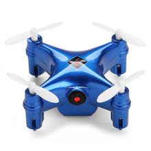 Wltoy Q343 Mini Drone Headless Mode Drones 6Axis Gyro Quadrocopter 2.4GHz 6CH Dron One Key Return RC Helicopter with Wifi Camera(China)