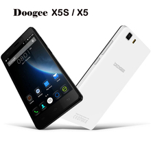 DOOGEE X5 3G WCDMA Unlocked Phone Android 5.1 MT6580 Quad Core 1.3GHz 8GB ROM 1GB RAM 2400mAh Battery 8.0MP+5MP 5.0 inch GPS
