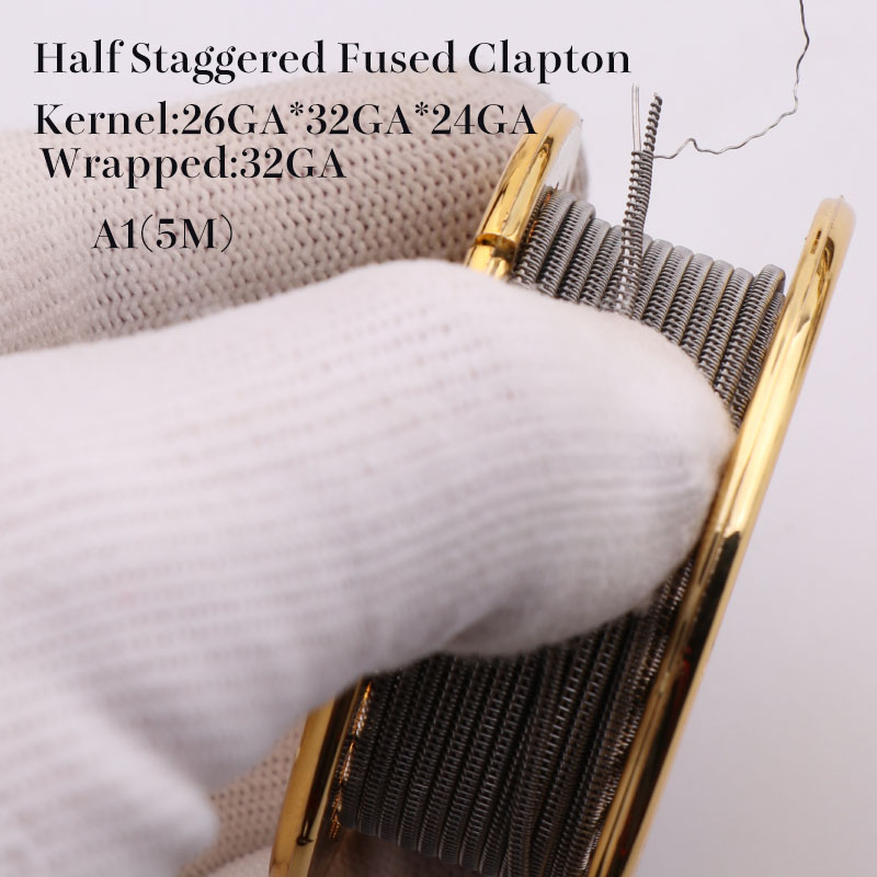 Half staggered fused clapton