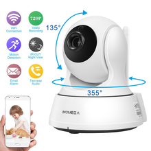 INQMEGA HD 720P Pan Tilt Security IP Camera WiFi Home Security CCTV Camera with Night Vision Two Way Audio Baby Monitor