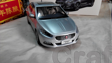 Silver 1:18 FIAT Viaggio Sedan 2014 Diecast Model Car