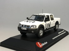 J-collection 1/43 NISSAN PICK-UP 2007 United Nations Liberia Peacekeeping Vehicle Diecast car mode(China)