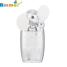 Binmer New Mecall Shocking Show Portable Handheld Mini Air Conditioner Cooler Fan  Battery