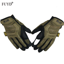 Winter Outdoor Gloves Men Army Military Tactical Shooting Full Finger Motocycel Bicycle Brand Cheap & Mittens Men's - Tianfu Apparel Store store