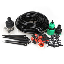 10m Micro Water Drip Irrigation System Hose Kit Home Greenhouse Drip Irrigation Plant Garden Kits Best Watering Kits(China)