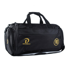 Brand Waterproof Nylon  sports Gym Bag Big Capacity Fitness Men Training Shoulder Traveling Sports Bag For Women Luggage Pack