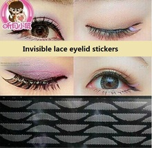 Invisible lace eyelid stickers Eyes became bigger safe invisible double eyelid tape sex products double eyelid M782