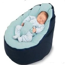 PROMOTION multicolor Baby Bean Bag Snuggle Bed Portable Seat Nursery Rocker,multifunctional 2 tops baby bean bag chair bag seat
