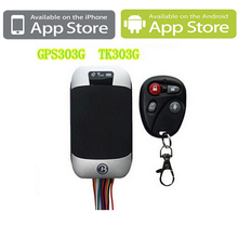 Quad band GPS Vehicle Car Tracker Coban GPS 303G With PC Software and Android phone and Iphone app Real-time Tracking