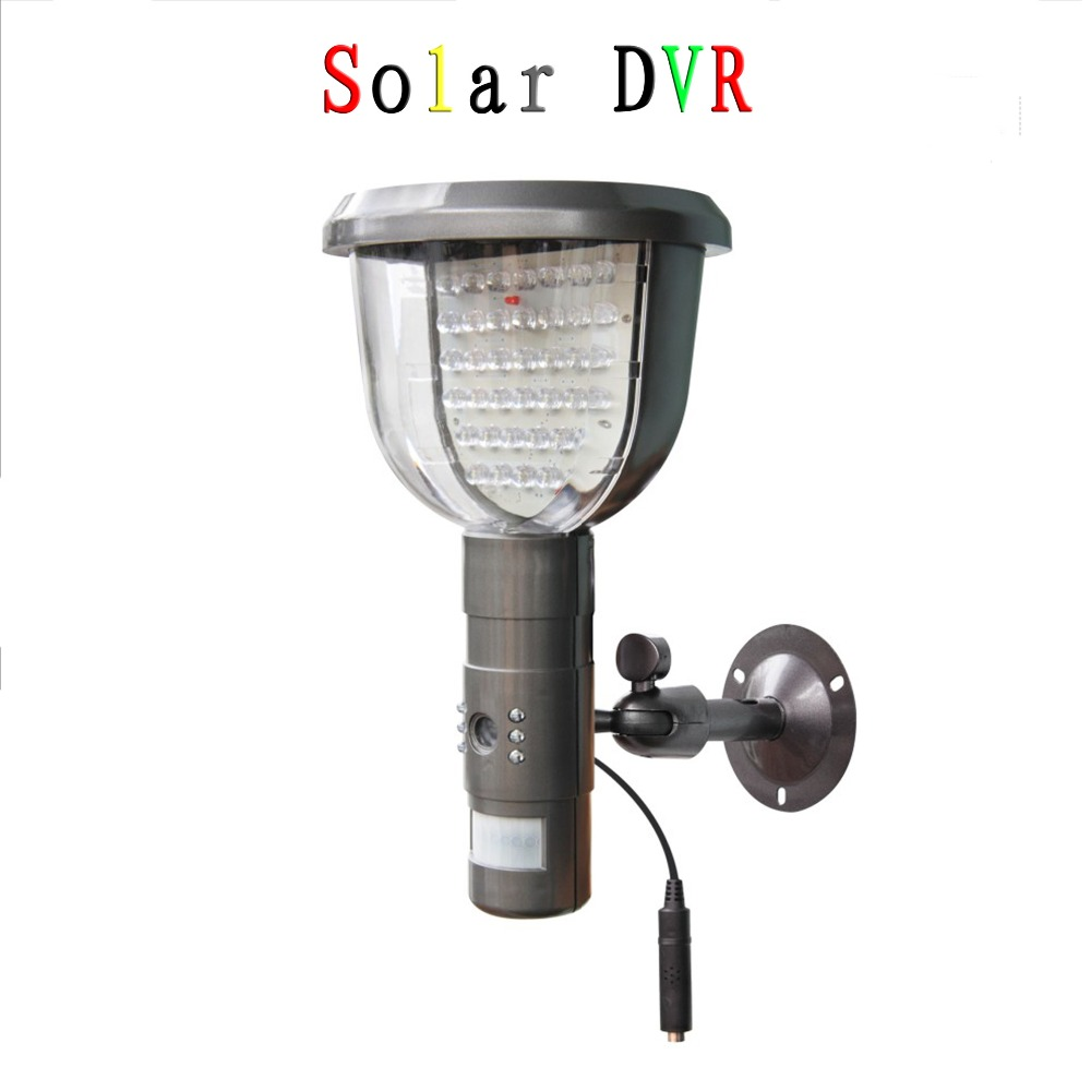 Waterproof Solar Power PIR Outdoor Security Camera With Night Vision Security Surveillance CCTV Camera Video Recorder TF Card<br><br>Aliexpress