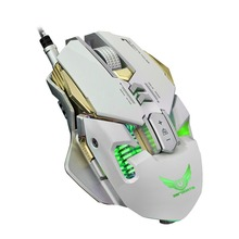 Professional X300 4000 DPI Optical Mechanical Wired Gaming Mouse 7 Button LED USB For PC Laptop Computer Pro Gamer(China)