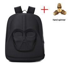 LOODIAL Darth Vader Backpack Star Wars Bag Teenage Backpacks for Girls High Capacity Travel School bags Women Purse with Gift