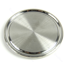 "Stainless Steel Sanitary End Cap For 2"" Tri-Clamp END Pipes Blank Flange(China)"