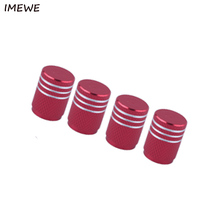 IMEWE 2017 4Piece/lot Sport Styling Auto Accessories Car Wheel Tire Valve Caps Case For Seat Leon Ibiza(China)