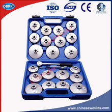 Oil Filter Wrench 23pcs/set Aluminum Cap Type Oil Wrench Auto Maintenance Tools Oil Core Wrench