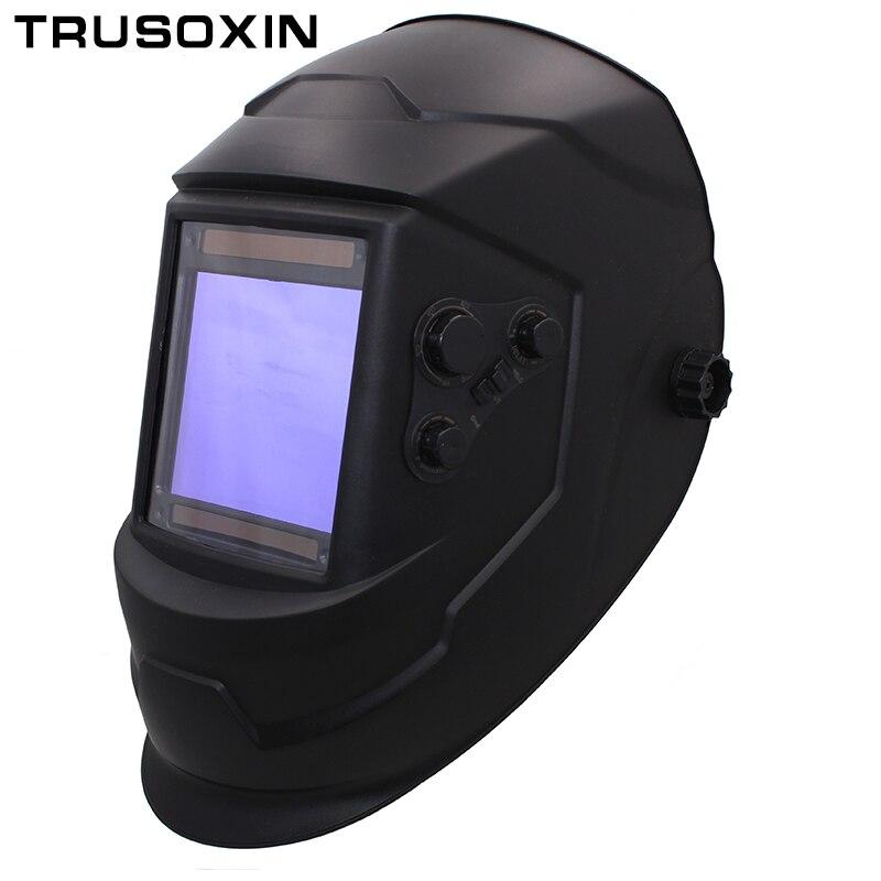 Big View Eara 4 Arc Sensor DIN5-DIN13 Solar Auto Darkening TIG MIG MMA Welding Mask/Helmet/Welder Cap/Lens/Face mask/Goggles<br>