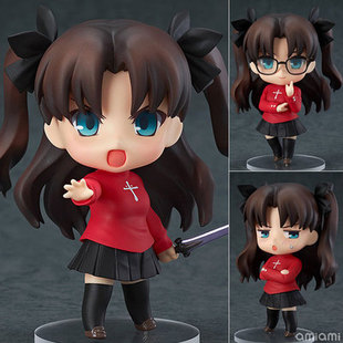 Nendoroid Fate stay night Tohsaka Rin #409 PVC Action Figure Toy Doll Retail Box 4 10cm WU003<br><br>Aliexpress