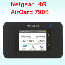 Открыл cat6 300 Мбит/с netger 790 S AC790S Aircard 4G LTE МИФИ маршрутизатор dongle 4G Карманный LTE Wi-Fi роутера pk ac970 762 S ac782s e5878(China)