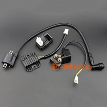 Ignition Coil 6 Pin AC CDI Regulator Rectifier Relay Kit For 150 200 250 cc Chinese ATV Quad E-Moto
