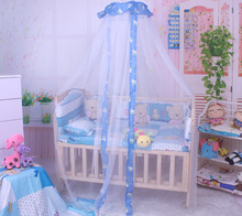 Buy hot new 2016 Baby Crib Cot Insect Mosquitoes Net Infant Bed folding Crib Netting Child Baby mosquito nets free for $10.84 in AliExpress store