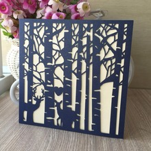 30pcs New love Deer Pattern Theme wedding decoration Wedding Invitation Card Bridal Shower Party Invitation card marriage card(China)