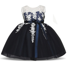 Baby Girl Dress Infant Kids Dresses For Girls Christmas Party Clothes Fancy Events Evening Prom Gown Children's Princess Dress(China)