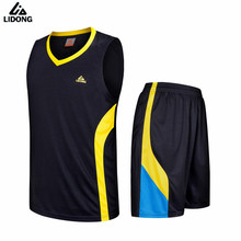 2017 men's Basketball Jersey Sets Uniforms kits Child Boys Girls Sports clothing Breathable Youth basketball jerseys suit shorts(China)