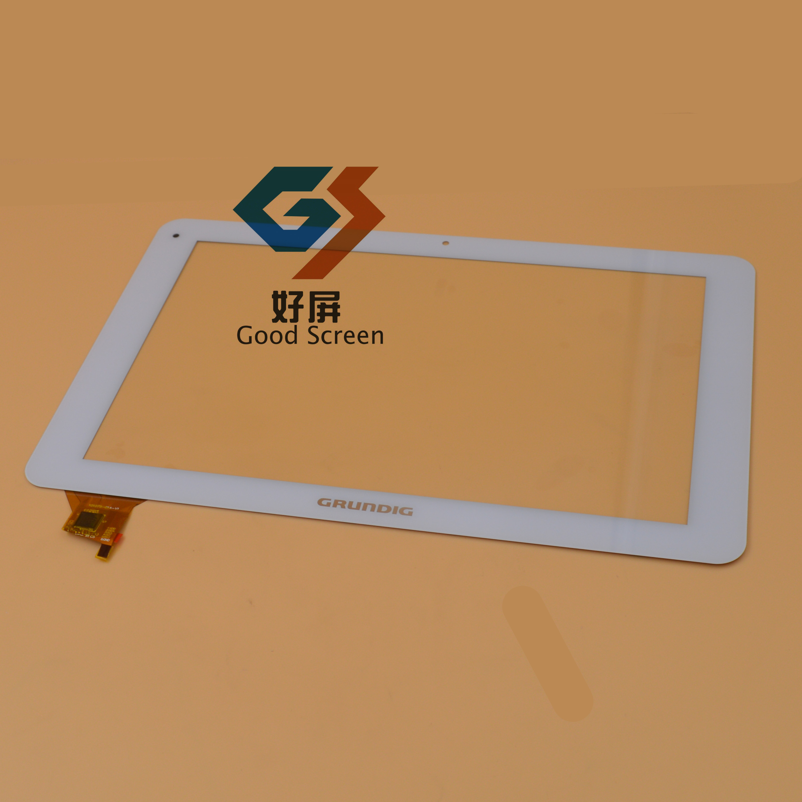 101075-01A-V1 for 10.1inch tablet pc 101075-01A capacitive touch screen panel digitizer glass sensor<br>