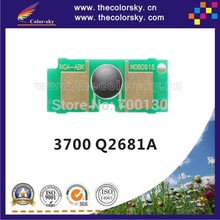 (CS-DH3700) toner cartridge chip for hp Q2681A Q2681 Q 2681A 2681 81A 3700 3750 KCMY (6K/6K pages)