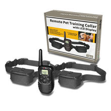998D2 Remote Control electric dog collar training trainer with 100 Levels of VIBRATION and 100 levels of STATIC SHOCK